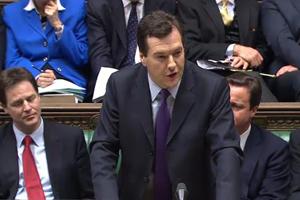 Chancellor George Osborne announces Budget 2011
