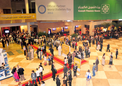 More than 15,100 attended The International Diabetes Federation