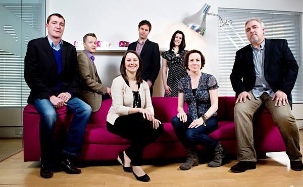 Line Up's new senior management team