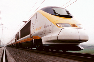Eurostar: claims to have cut carbon dioxide emissions by 31% compared to 2007