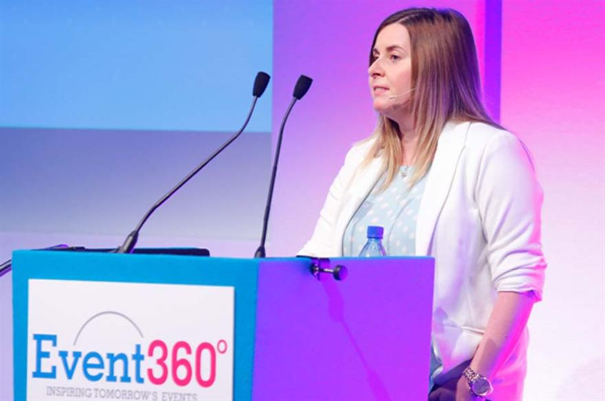 Kelly Phillips, EE senior event manager
