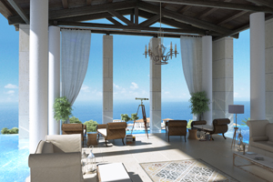 The Romanos, part of Starwood's Luxury Collection, will open in 2010 in Navarino, Greece