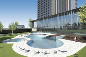 Plans for the Melia Braga Hotel & Spa