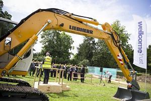 Wellcome Trust begins construction in Cambridge