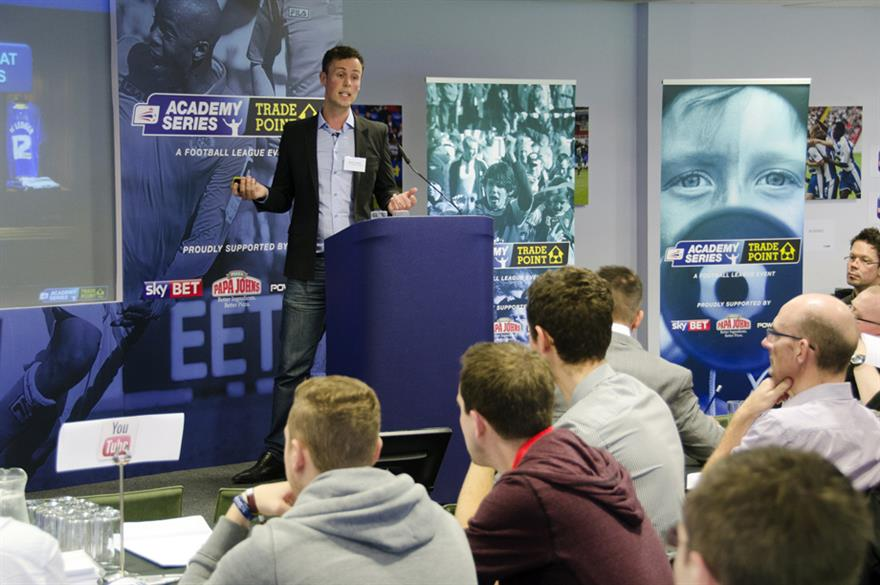 The Football League Academy Series includes eight events