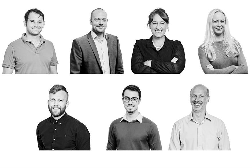 Andrew Joubert, Andrew Webb, Felicity Collen, Harriett Handley, James Hemmings, Mircea Matasaru, Tom Vamos