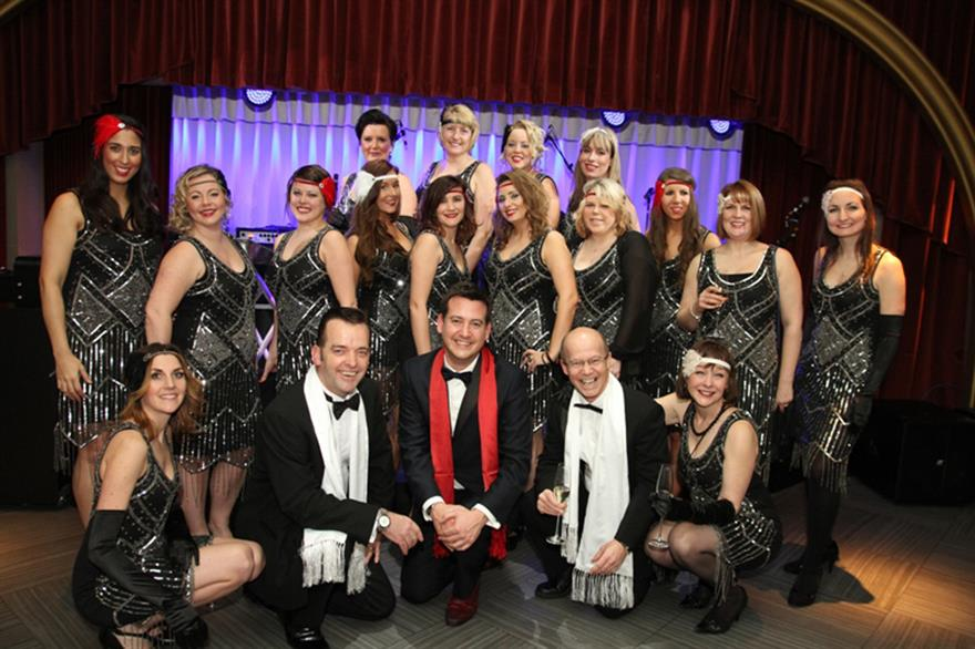 The UK Cruise Awards at Quaglino's in London had a 1930s Gatsby theme