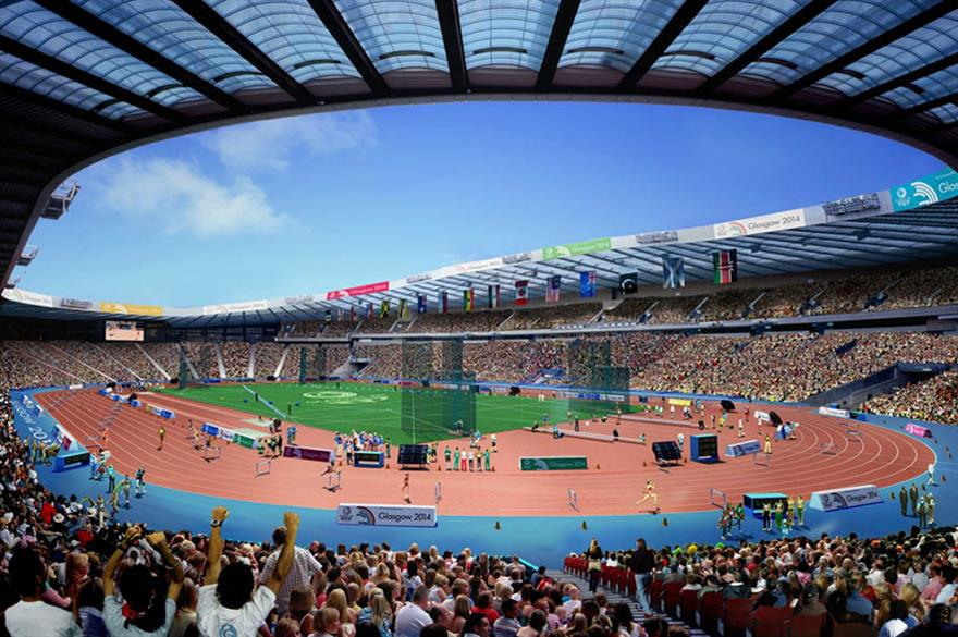 Glasgow 2014 Commonwealth Games (CGI)