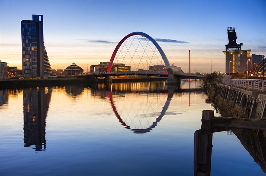 River Clyde, Glasgow, Scotland