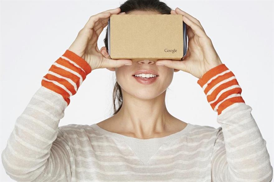Corporate event planners have cited Google Cardboard as top tech trend