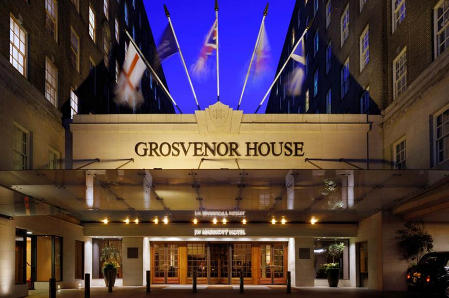 Grosvenor House Hotel put up for sale by owners