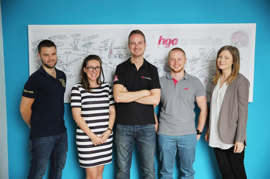 HGA Creative announces five new appointments
