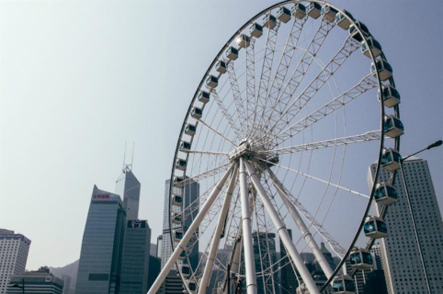 Hong Kong's Observation Wheel has opened