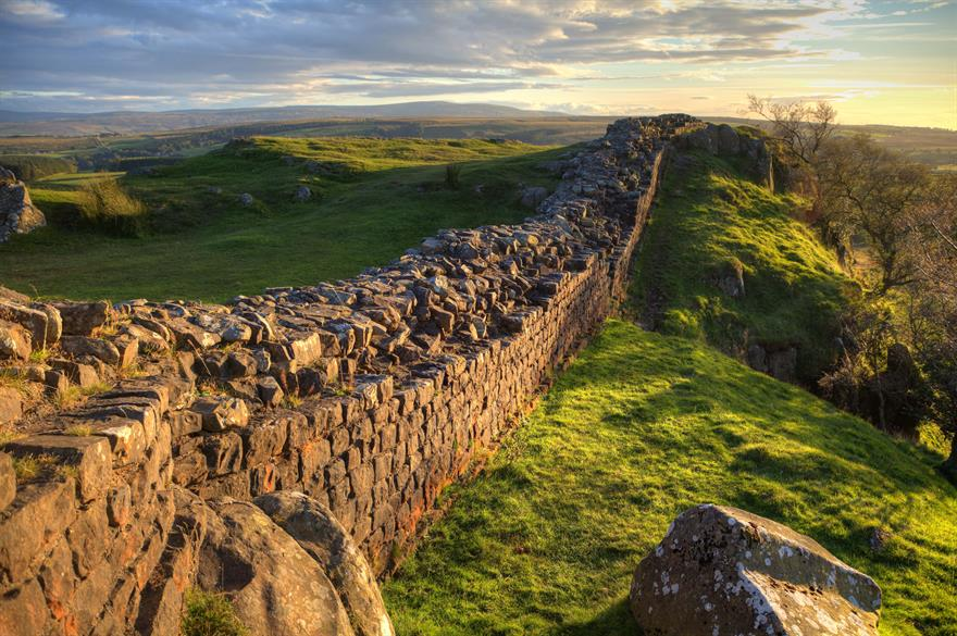 The real Hadrian's Wall (Image credit: iStock)