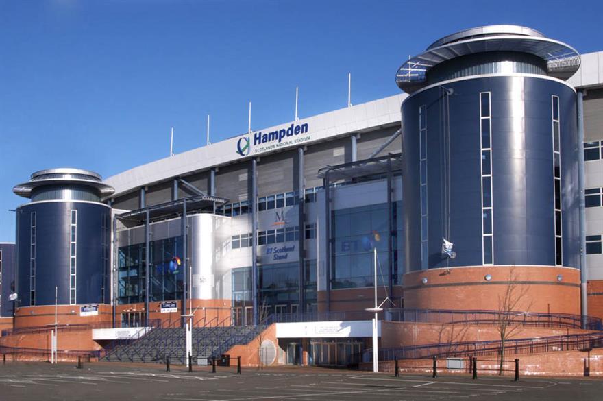 Hampden Park, Glasgow, venue for The Business50 Conference