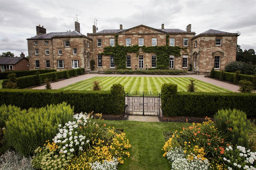 Hillsborough Castle revamps event space
