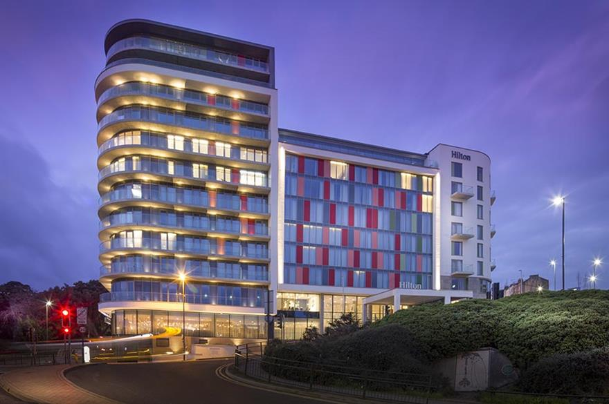 Hilton Bournemouth opened on 16 December