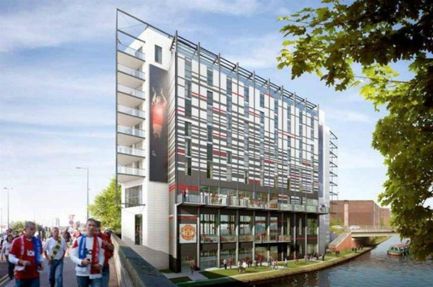 Hotel Football will open in 2015