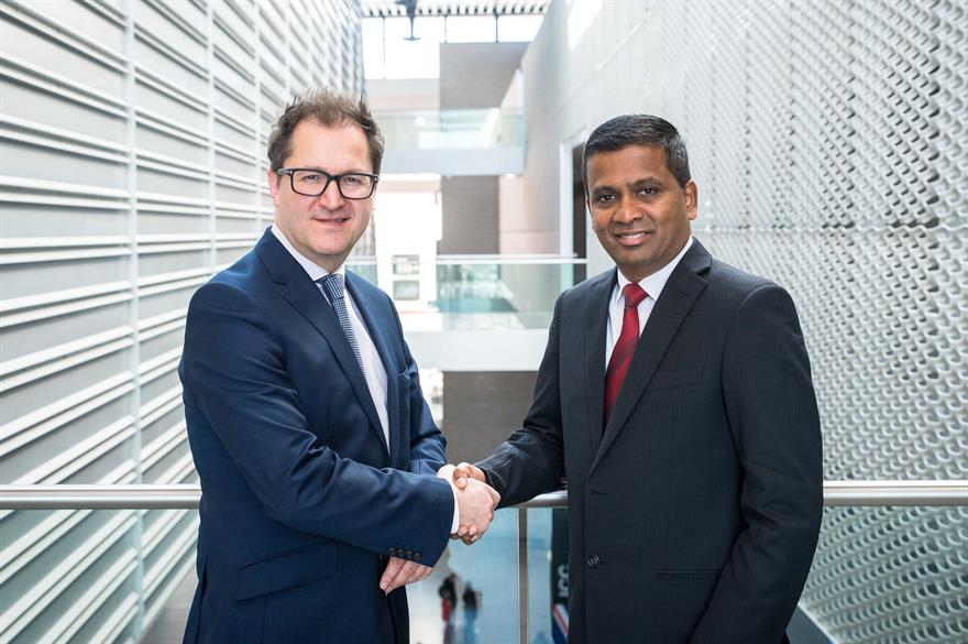 ICCA president James Rees and new CEO Senthil Gopinath