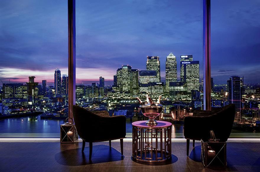 InterContinental London - The O2's Eighteen Sky Bar