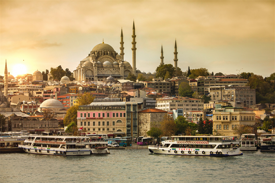 Istanbul, capital of Turkey