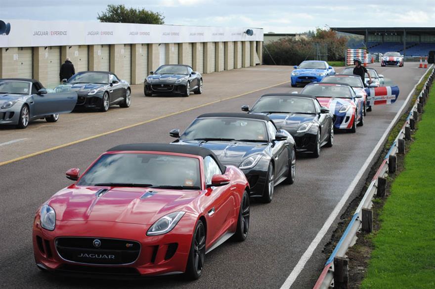 Jaguar Racing Heart Experience 2013, Thruxton