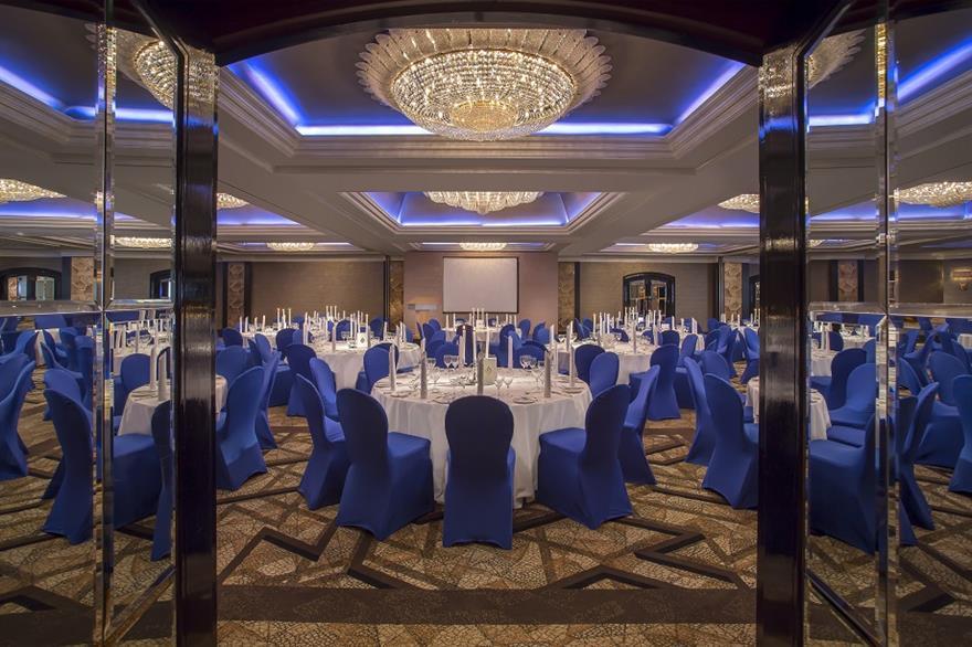 The new ballroom at Jumeirah Carlton Tower
