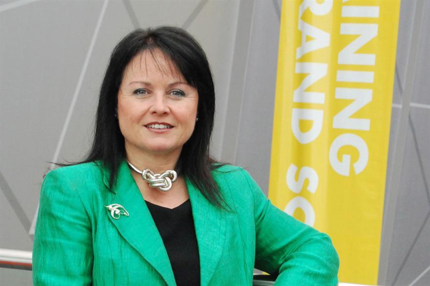 Kerrin MacPhie, ICCA UK and Ireland Chapter's chair