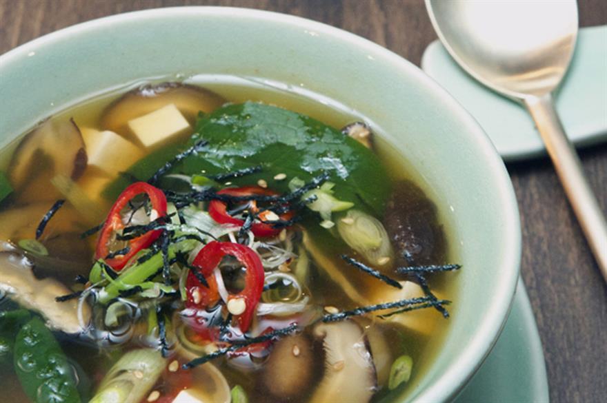 Jinjuu's Korean vegetable soup