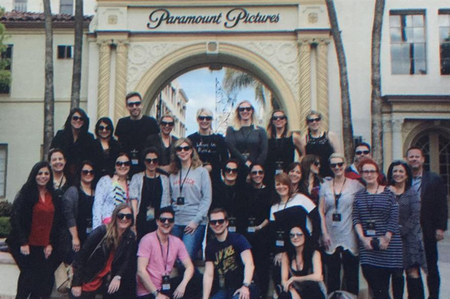 C&IT and LATCB's Forum & Fam included a visit to Paramount Studios