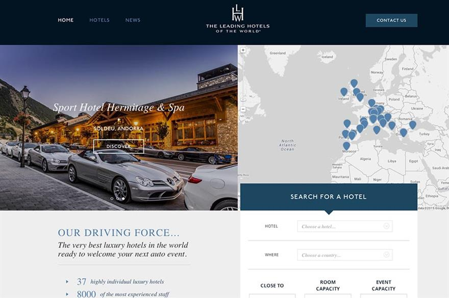 Leading Hotels of the World's new automotive website, www.lhwauto.com