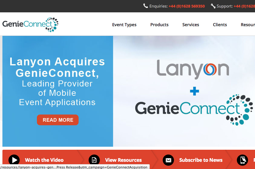 Lanyon acquires GenieConnect