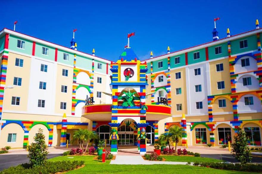 Legoland Florida hotel (©Chip Litherland for LEGOLAND Florida/Merlin Entertainments Group)