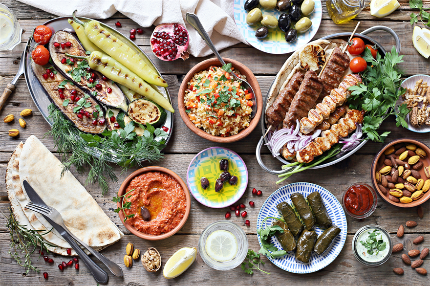 Levantine cuisine includes the food of Lebanon