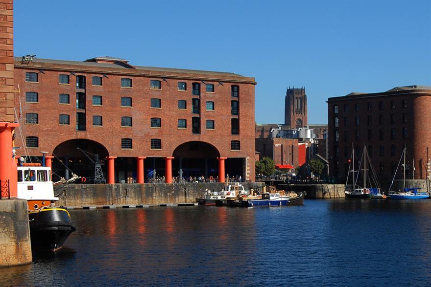 Liverpool's iconic Albert Dock