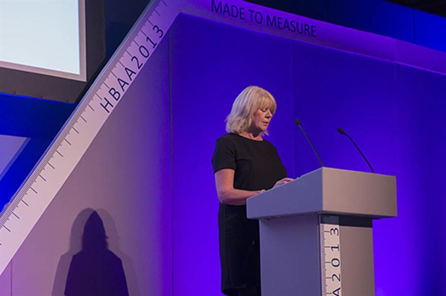 Liz Hall, PricewaterhouseCoopers, at HBAA Forum