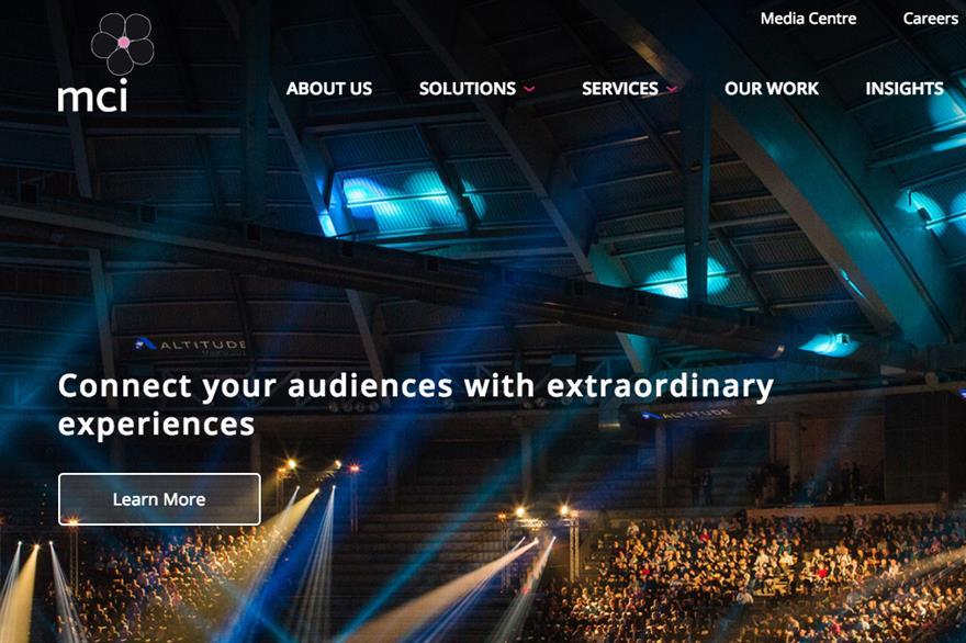 MCI website