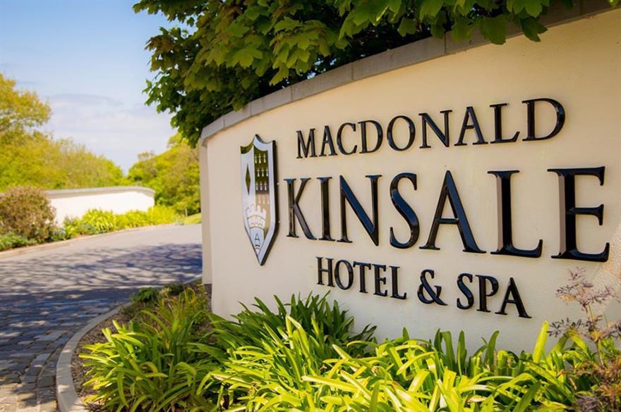 Macdonald Kinsale Hotel & Spa has opened in Ireland