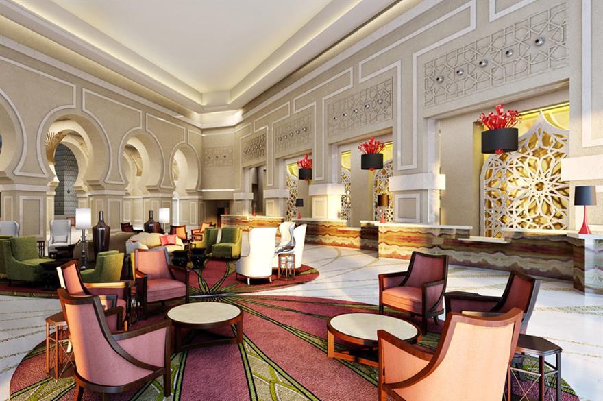 The Makkah Marriott Hotel in Saudi Arabia