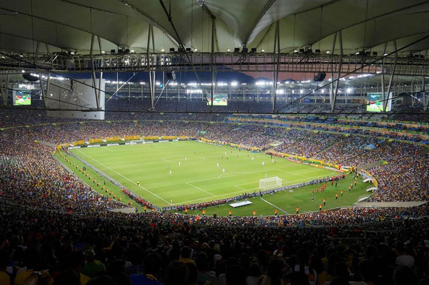 The World Cup final will be played at the Maracana Stadium, Rio, Brazil (c. Leandro's World Tour)