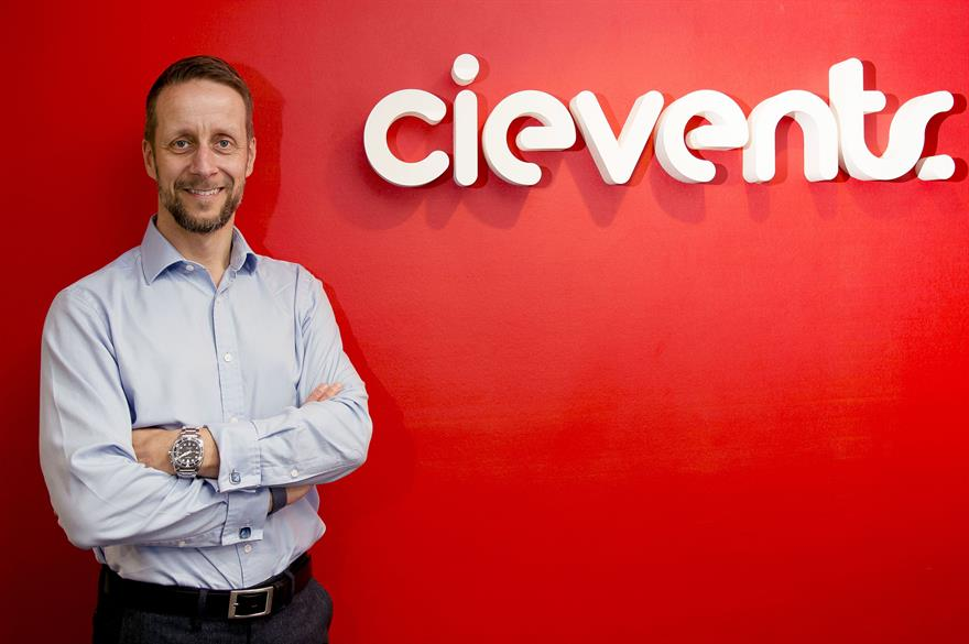 Martin Rottiné, business leader of cievents' meetings division