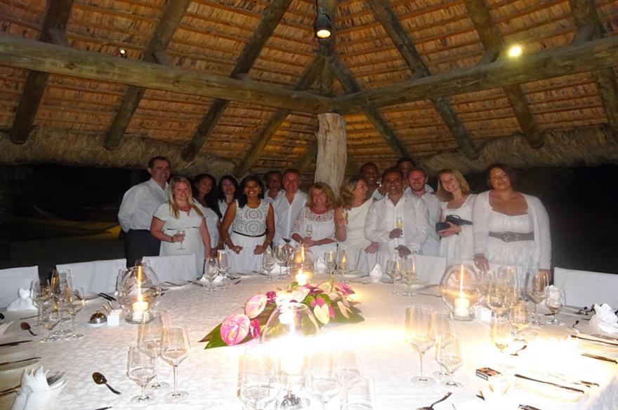 Mauritius fam trip: gala dinner at DinaRobin Hotel Golf & Spa
