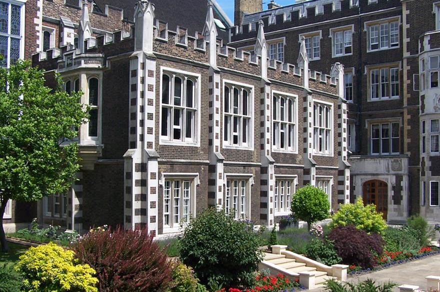 Middle Temple sees rise in events