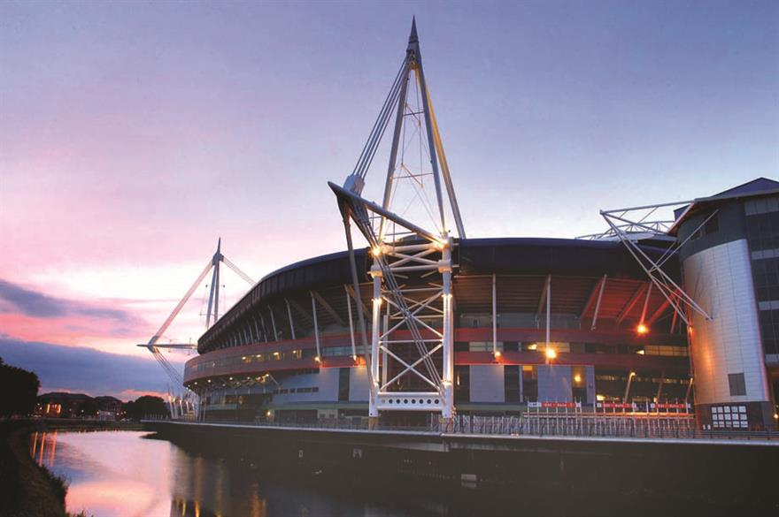 Official 2015 Rugby World Cup venue, Millennium Stadium