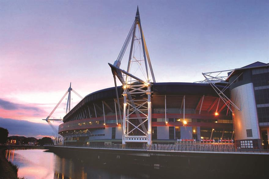 Millennium Stadium, Cardiff, part of Lime Venue Portfolio
