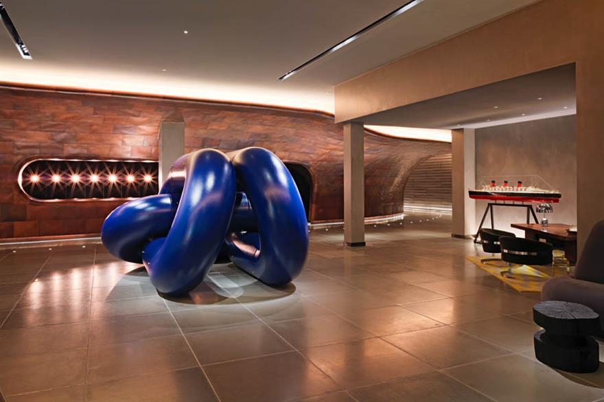 Lobby, Mondrian London hotel