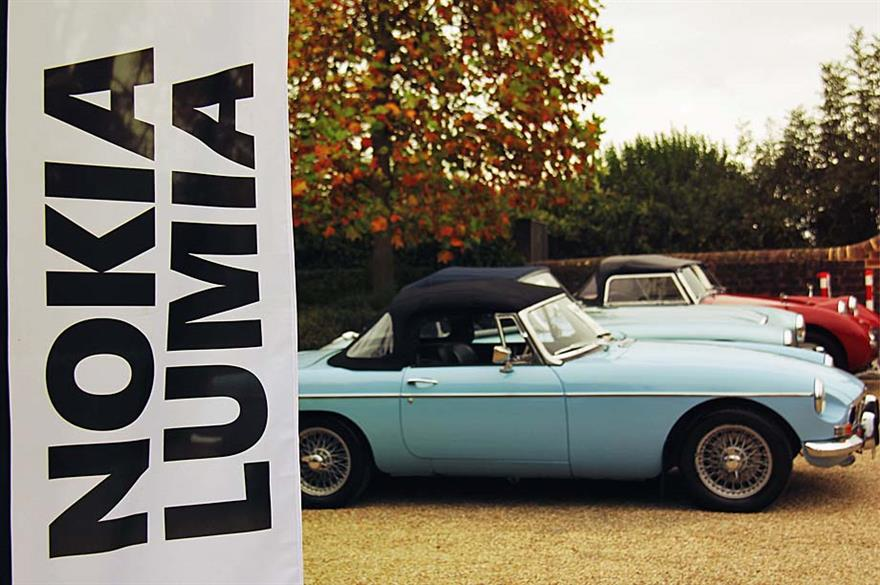 Pickled Egg delivers Nokia Lumia car rally