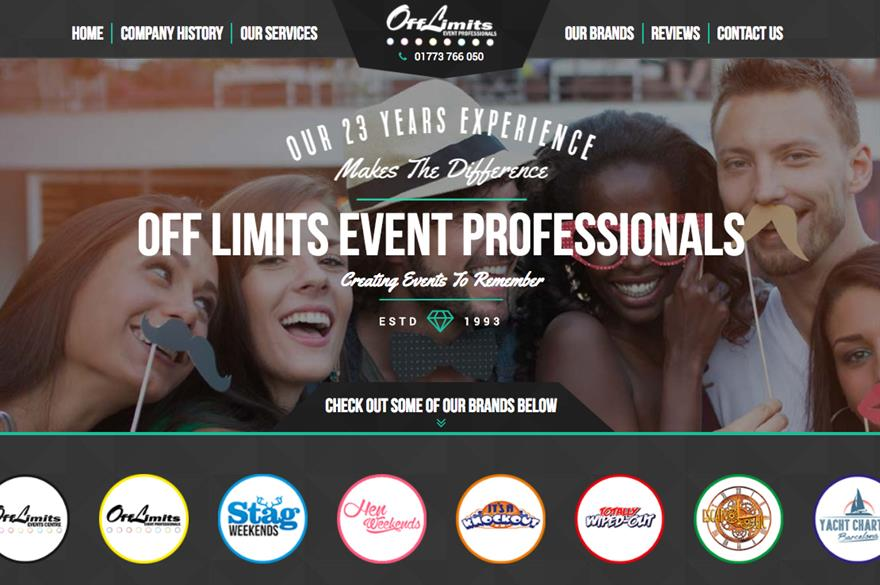 Off Limits website