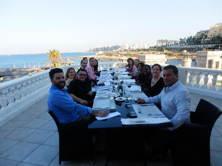 Malta hosts C&IT A Listers for incentive trip