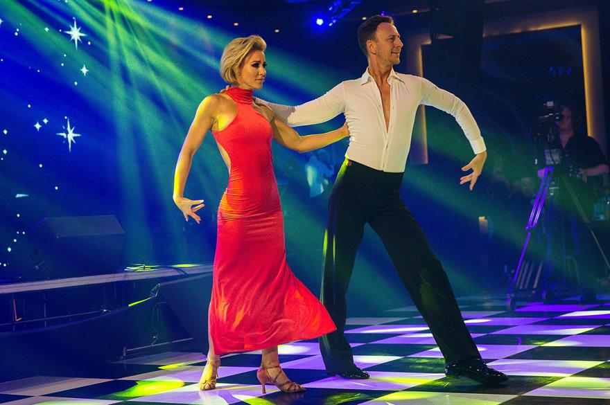 Natalie Lowe and Iain Waite